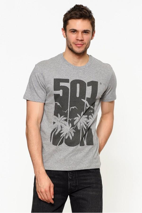 Levis Erkek T-shirt Graphic Set-In Neck 2 -22491-0411